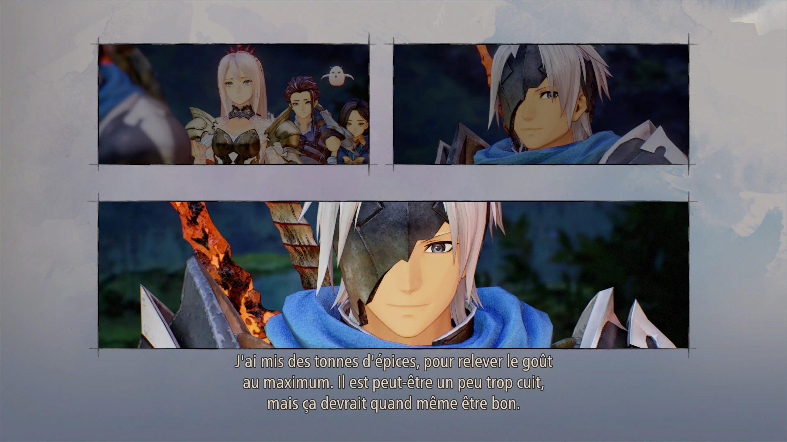 démo tales of arise screenshot démo ps5 histoire