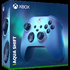 manette xbox series aqua shift visuel produit