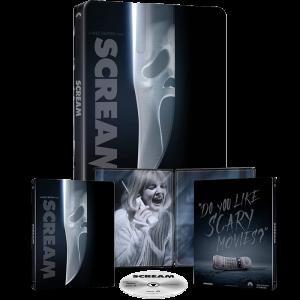 scream blu ray 4k steelbook visuel produit