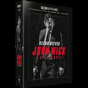 trilogie john wick blu ray 4k standard visuel produit