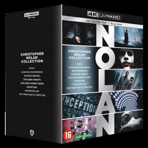 Christopher Nolan Intégrale Blu-Ray 4K visuel produit