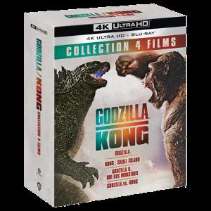 Coffret Godzilla Kong 4K visuel produit