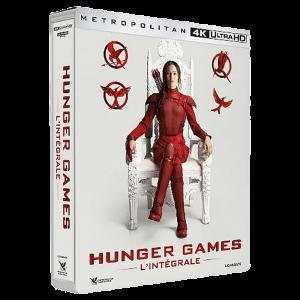 Coffret Hunger Games Integrale 4K visuel produit