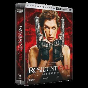 Coffret Resident Evil 4K visuel produit