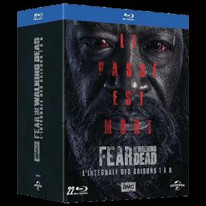 Fear the Walking Dead Saisons 1 a 6 Blu Ray visuel produit