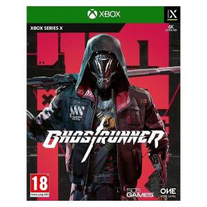 Ghostrunner sur xbox visuel produit