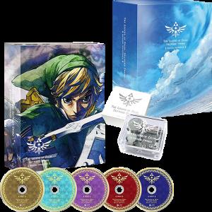 OST CD Zelda Skyward Sword Edition Limitee visuel produit