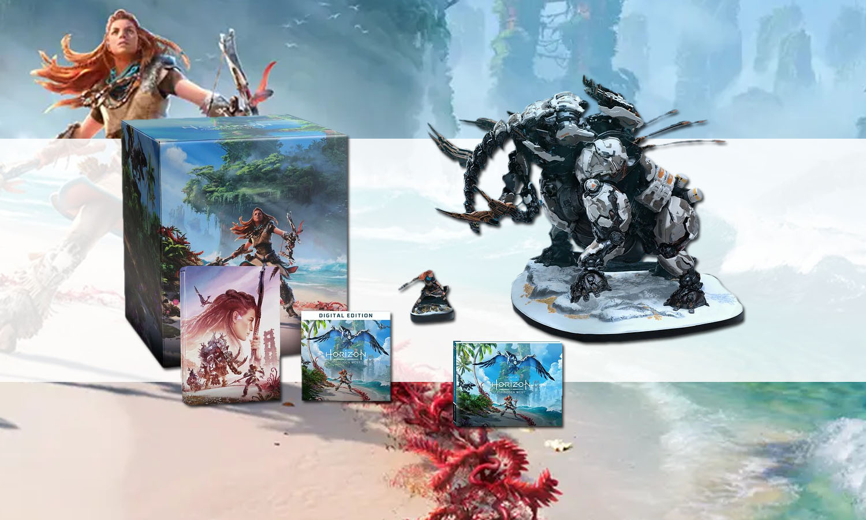 SLIDER Horizon Forbidden West Edition Collector sur PS5 et PS4 v6