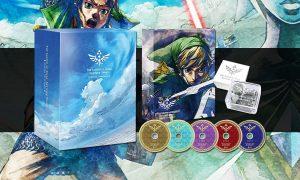 SLIDER OST CD Zelda Skyward Sword Edition Limitee visuel produit