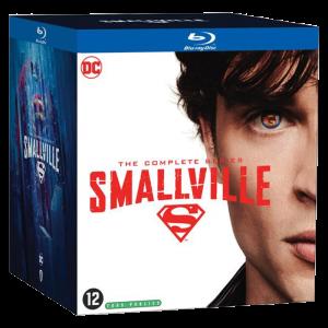 Smallville - L'intégrale des 10 saisons Blu Ray visuel produit