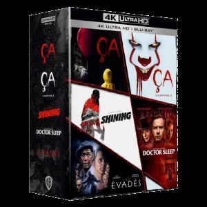 Stephen King Collection Blu-Ray 4K visuel produit