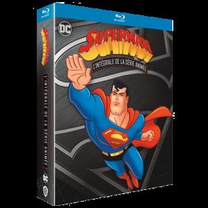 Superman La Série Animée Integrale Blu-Ray visuel produit