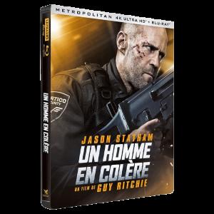 Un Homme en Colère Steelbook Blu-Ray 4K visuel produit