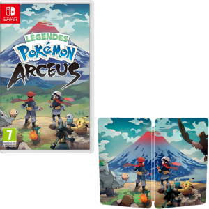 pokemon legends arceus switch steelbook visuel produit