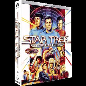 star trek blu ray 4k 4 films originaux visuel produit