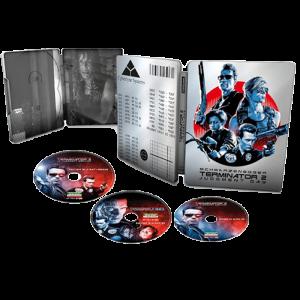 terminator 2 blu ray 4k steelbook visuel produit definitif