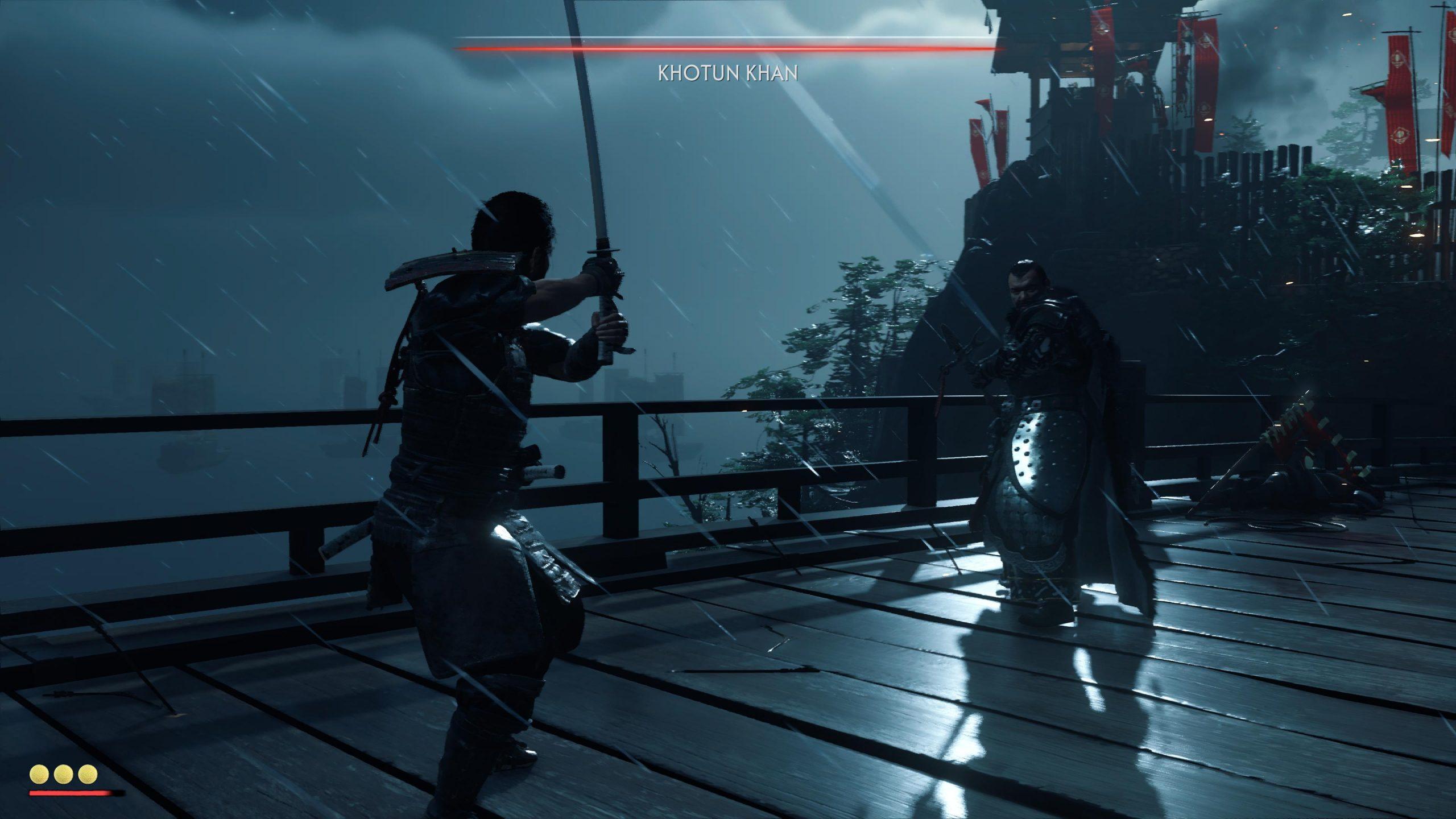 test ghost of tsushima ps5 visuel 4 gameplay combat