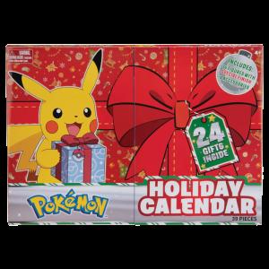 Calendrier de l'avent Pokémon visuel produit