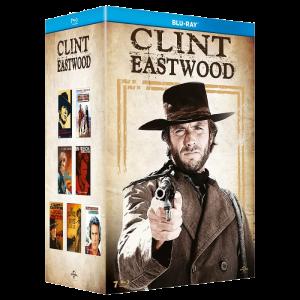 Clint Eastwood coffret 7 films Blu Ray visuel produit