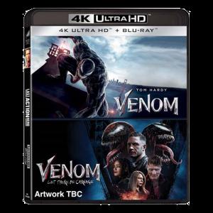Coffret dilogie Venom Blu-ray 4K Ultra HD visuel produit