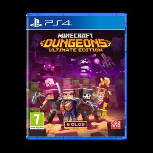Minecraft Dungeons Ultimate Edition PS4 visuel produit