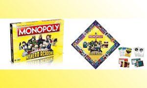 Monopoly My Hero Academia visuel slider