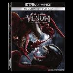 Venom 2 Let There Be Carnage Blu-ray 4K Ultra HD visuel produit