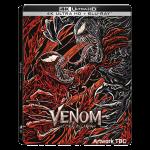 Venom Let There Be Carnage Steelbook 4K visuel produit