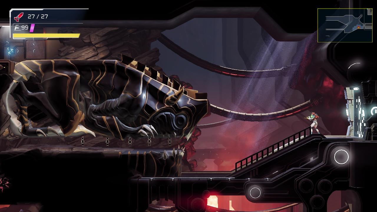 metroid dread level design