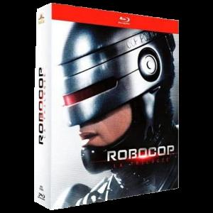 robocop coffret blu ray trilogie visuel produit